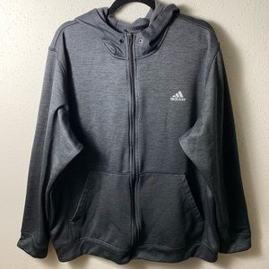 ADIDAS Mens 2XL GraySilver Climawarm Active Jacket